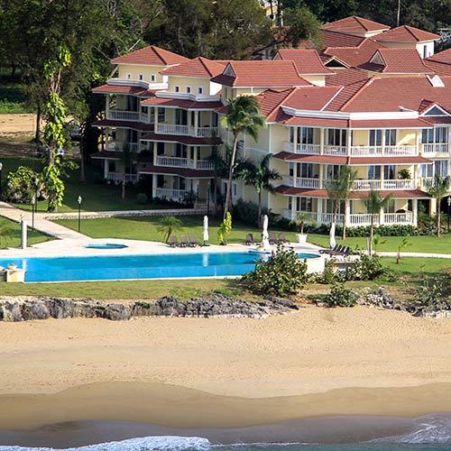 Beachside condos in DR in Hispaniola Beach