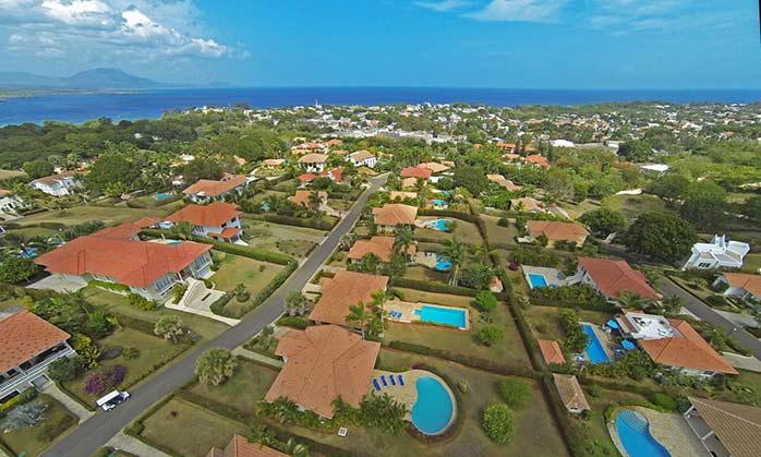 Oceanside villa properties in Dominican