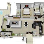Disenos, 3 dormitorios, Encuentro Residences