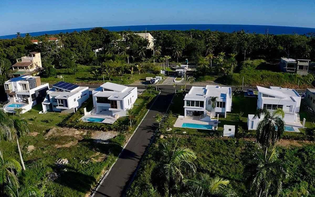 Villas en la costa norte a pocos pasos del océano