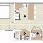 Floor plan for villa GreenOne at Playa Dorada