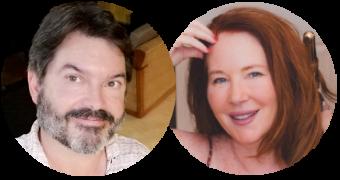 Headshots Steve & Christine of Dreaming DR